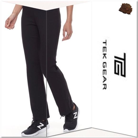07f0986e7e Petite Tek Gear® DRY TEK Straight-Leg Pants